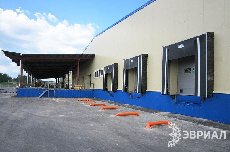 склада временного хранения автомобильного терминала