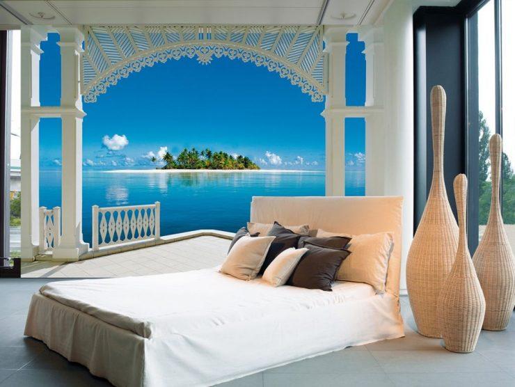 Секреты подбора фотообоев для спальни — полезные советы