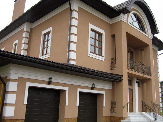 Фасадные краски для разных поверхностей