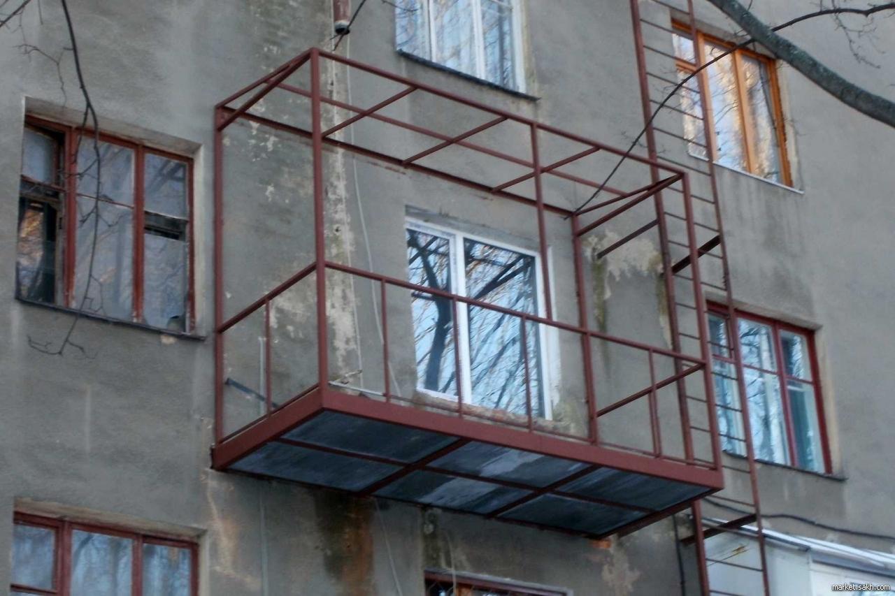 Конструкции балконов и лоджий