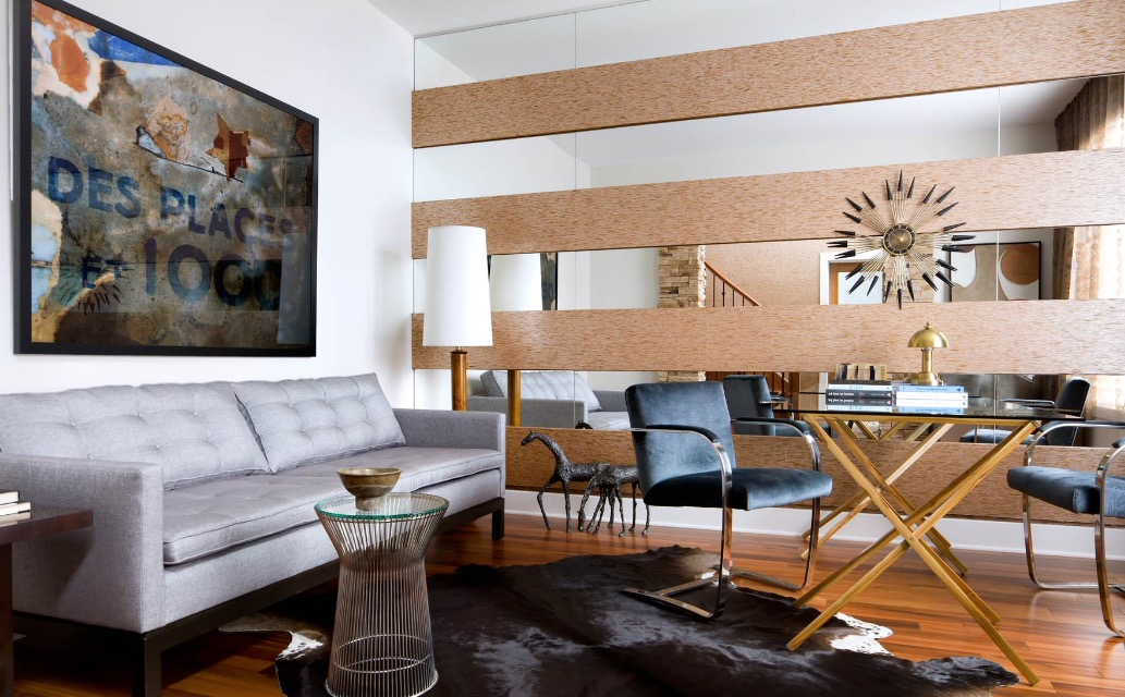 Оптические иллюзии в интерьере современной квартиры