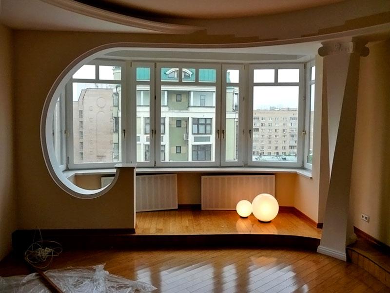 Оптические иллюзии для расширения квартиры