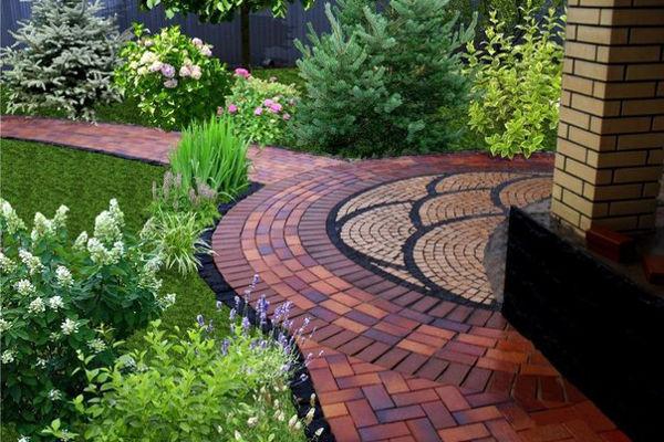 Украшаем ландшафт — тротуарная плитка