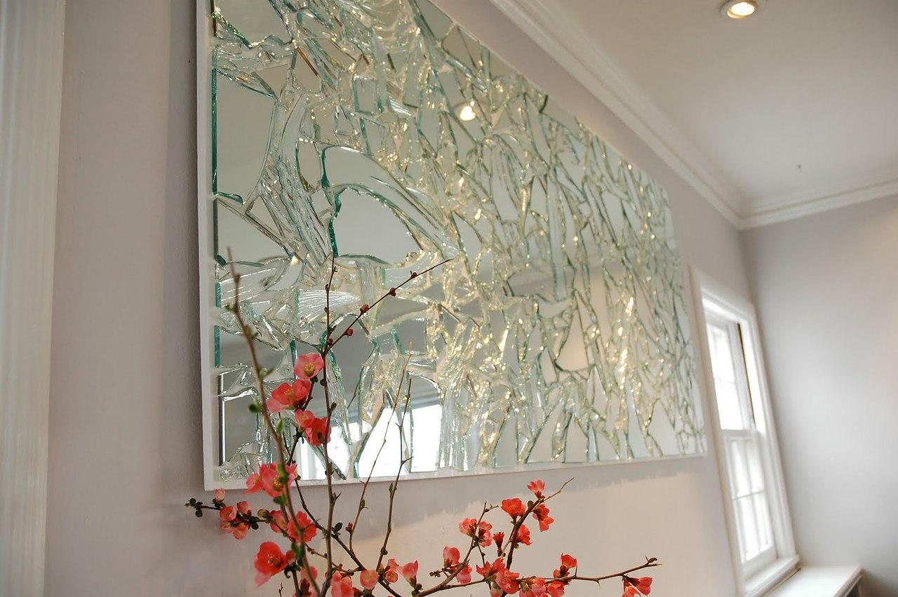 Поделки из зеркала и стекла 43