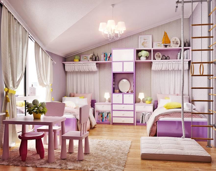 Советы по оформлению интерьера детской комнаты