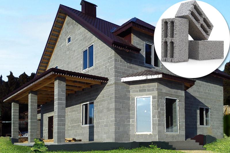 Дом из керамзитобетона – гарантия низкой стоимости