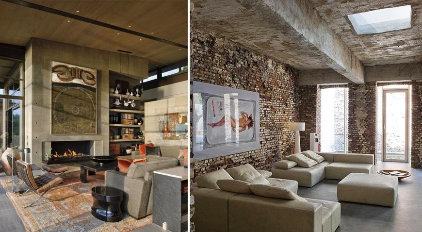 Натуральные камни в помещении — сегодняшнее дизайнерское искусство
