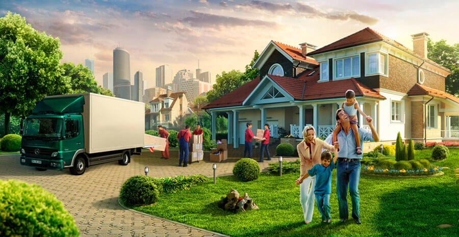 ГРУЗОПЕРЕВОЗКИ: квартирный переезд