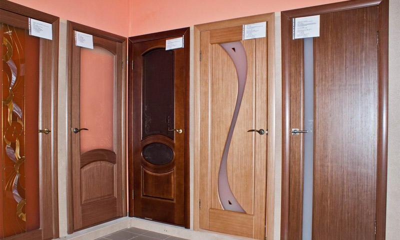 Шпонированные межкомнатные двери для квартиры