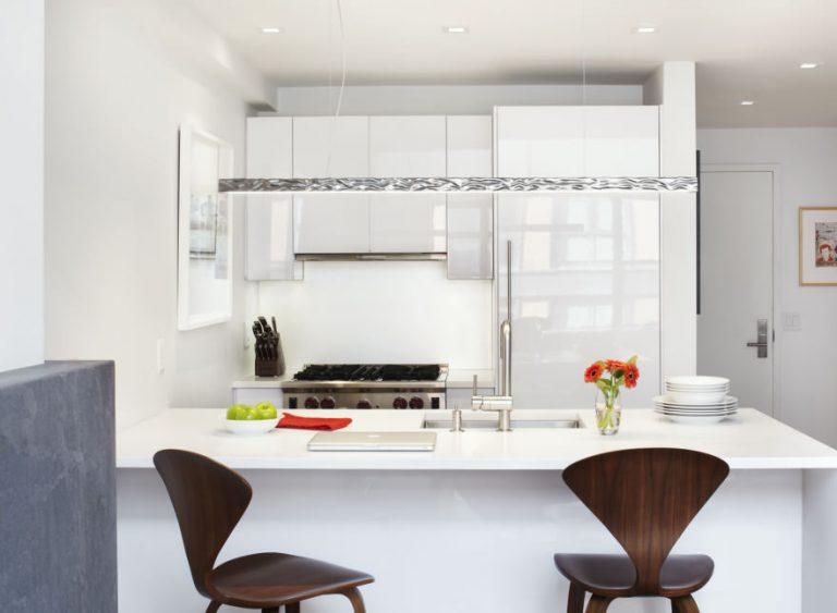 Стильные идеи: современная компактность кухни