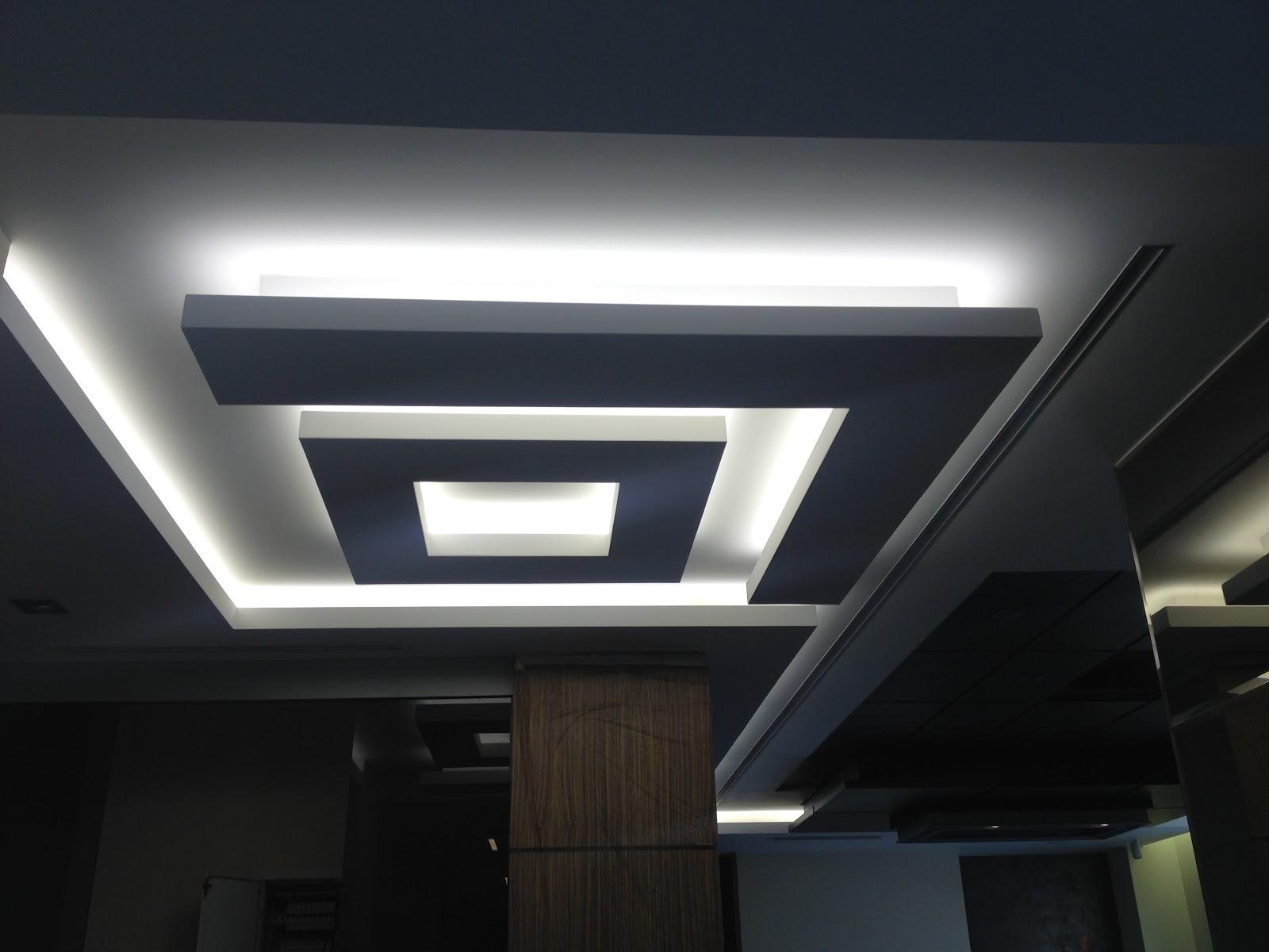 Многоуровневый потолок, важная деталь современного интерьера