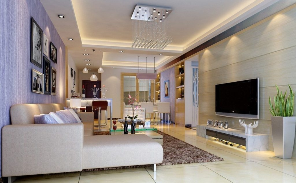 Освещение в гостеприимном дизайне интерьера