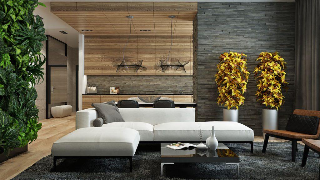 Стили и текстуры в декоре квартиры