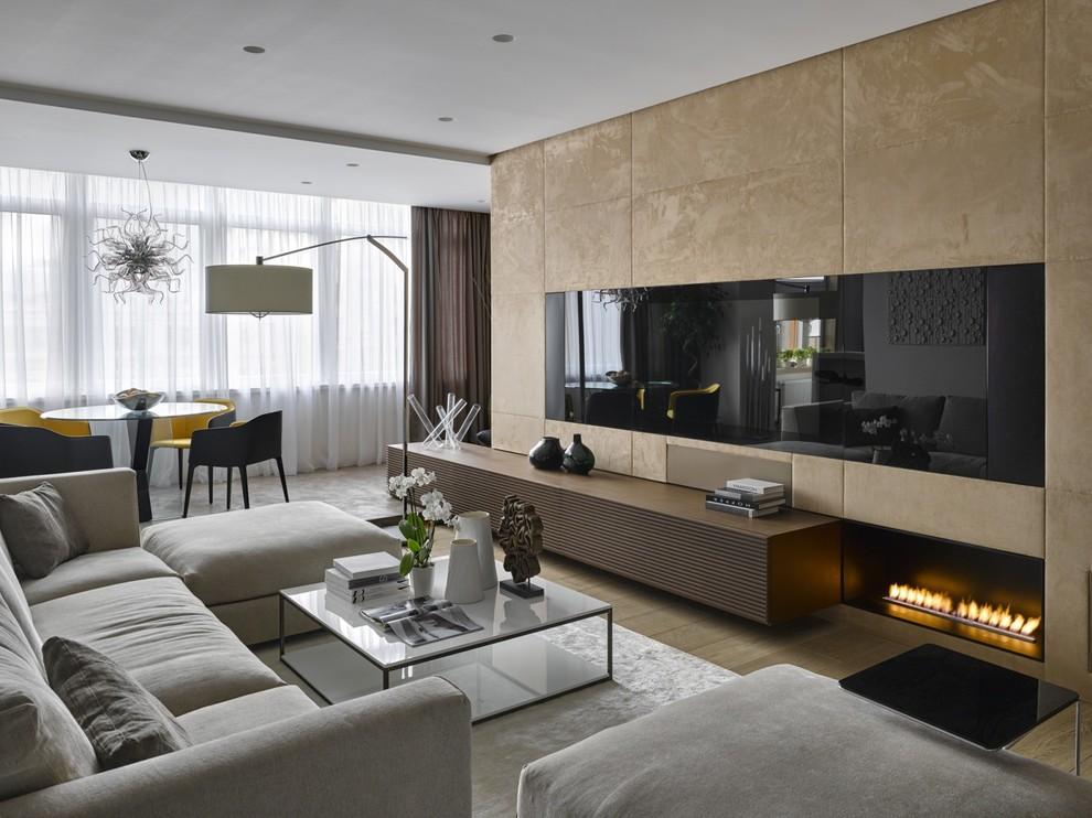 Стили для модной гостиной