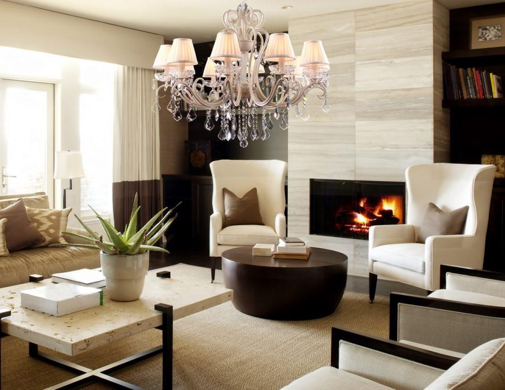 Стильное оформление интерьера дома