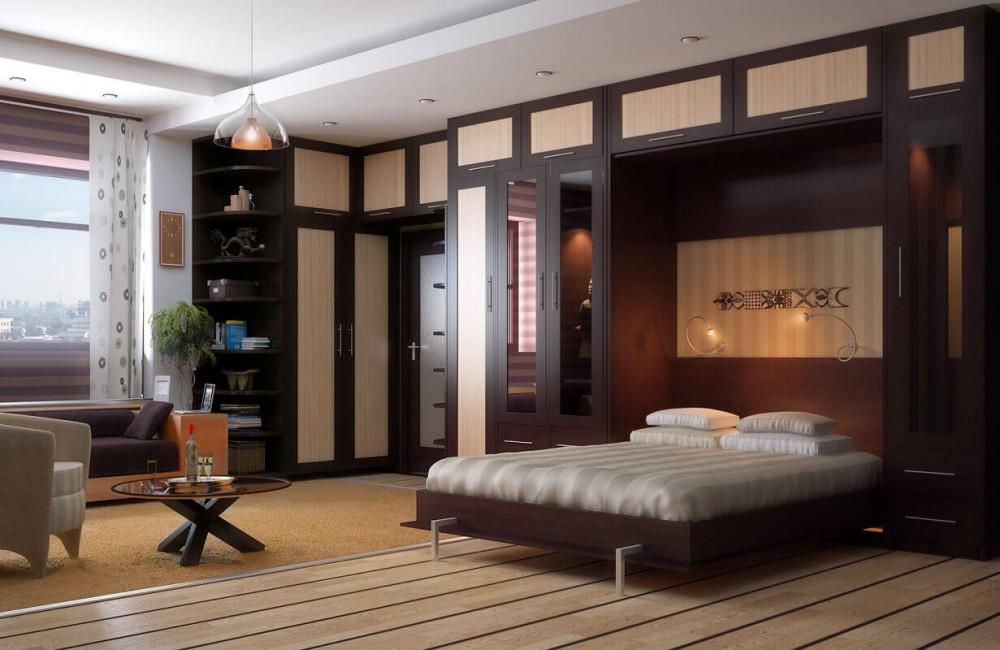 Удобный шкаф для спальни или гостиной