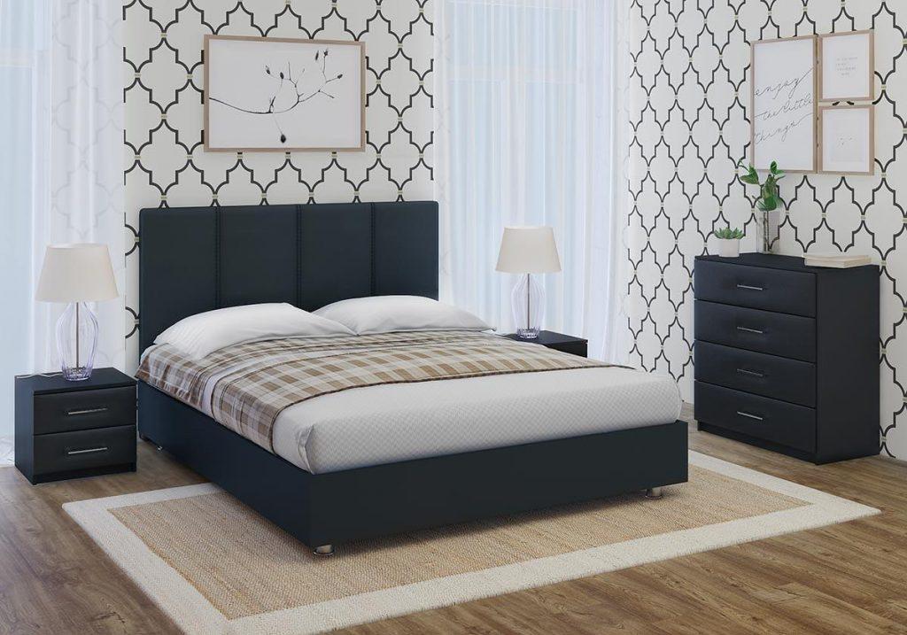 Кровати в спальном интерьере