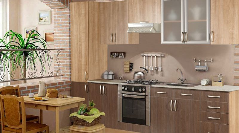 Кухонный гарнитур и декор кухни