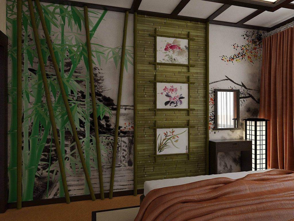 Аксессуары и декор в японском дизайне