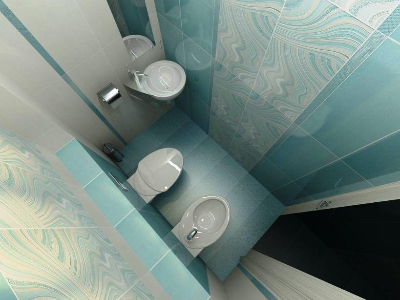 Туалетная комната – дизайн интерьера