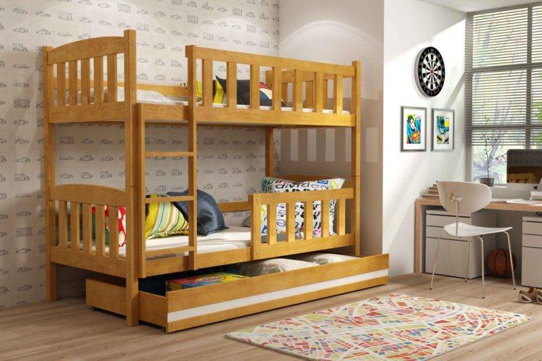 Особенности двухъярусных кроватей