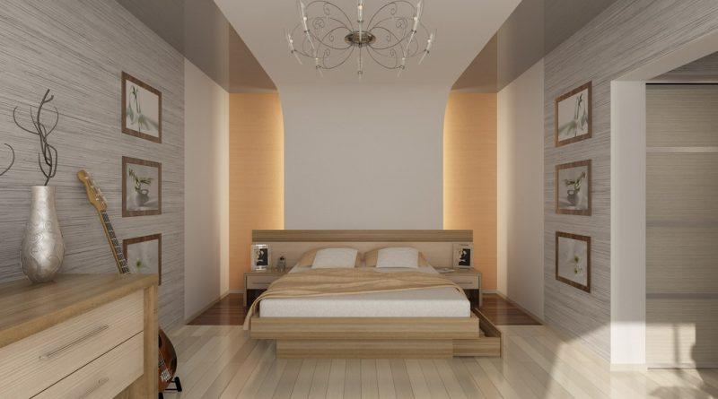 Выбор цвета спальни и коридора