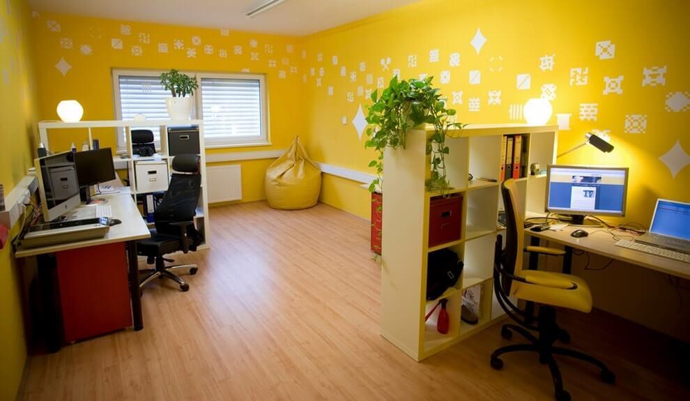 Выбор цвета помещения