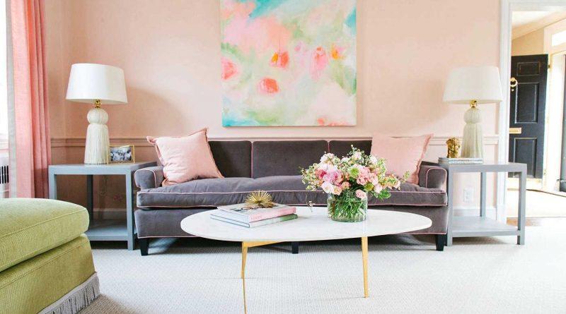 Теплые цвета в дизайне интерьера