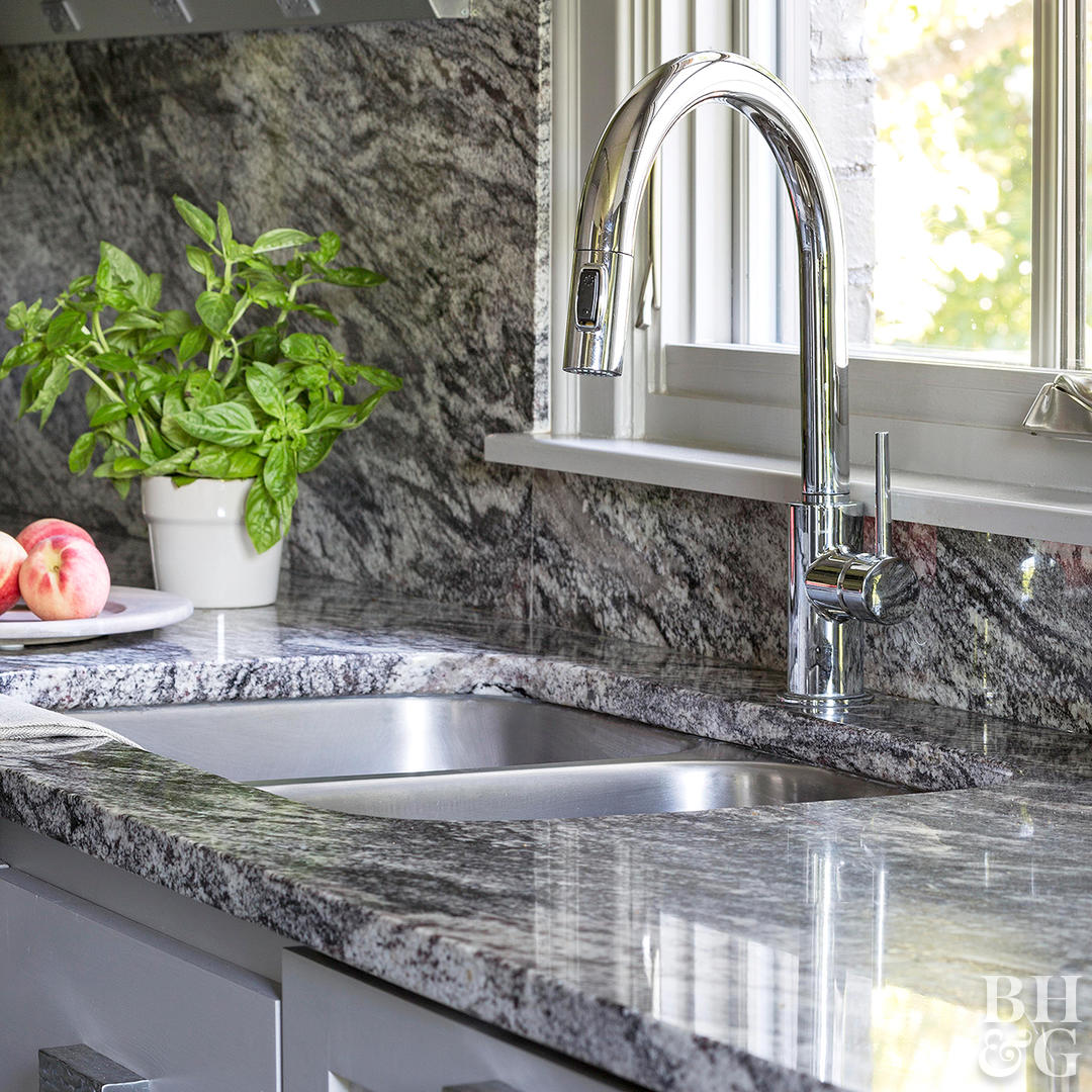 dark granite kitchen sink f66e0d9a