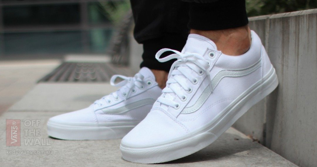 ZHenskie belie kedi Vans Old Skool white 014 b62