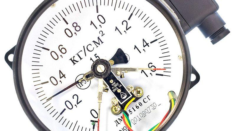 манометр сигнализирующий ДМ Сг 05 160 16